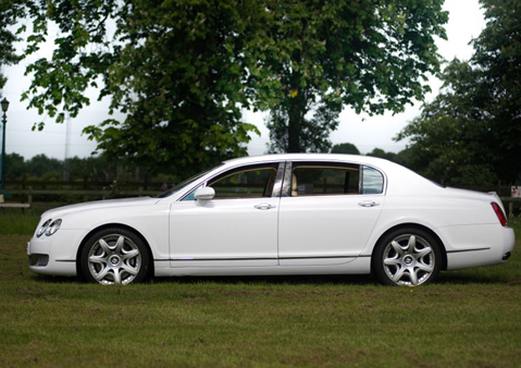 HIRE A BENTLEY FLYING SPUR WITH IMPERIAL RIDE