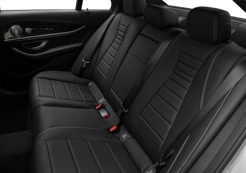 MERCEDES E-CLASS SEATING CAPACITY