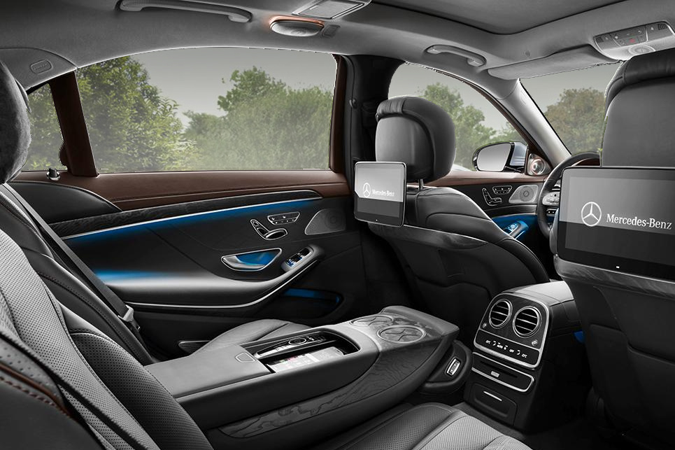 MERCEDES S-CLASS SEATING CAPACITY