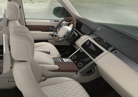 RANGE ROVER VOGUE INTERIOR LUXURY