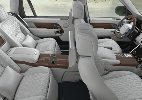 RANGE ROVER VOGUE SEATING CAPACITY