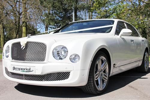 bentley mulsanne wedding chauffeur