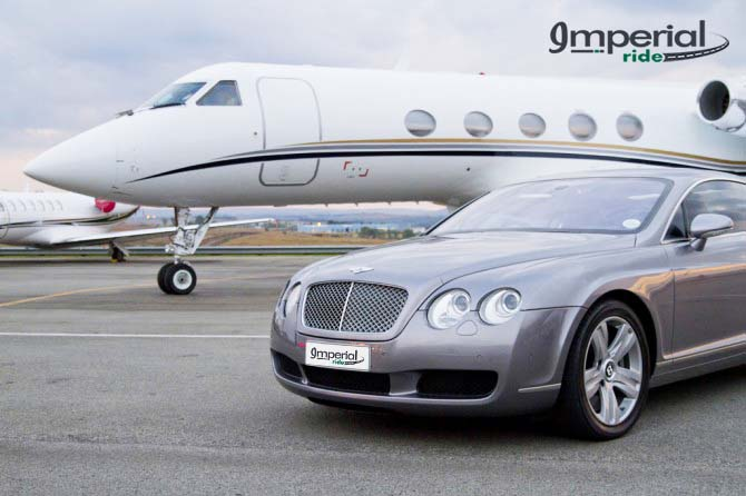 bentley flying spur airport transfers