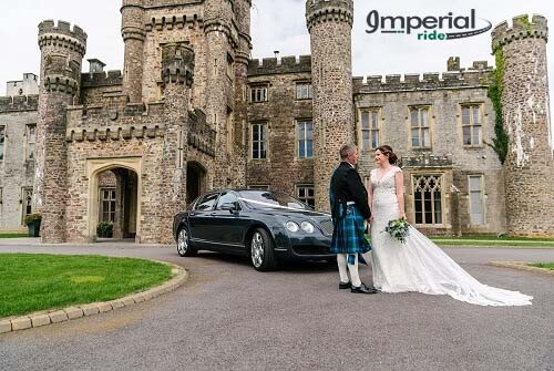 bentley flying spur wedding chauffeur
