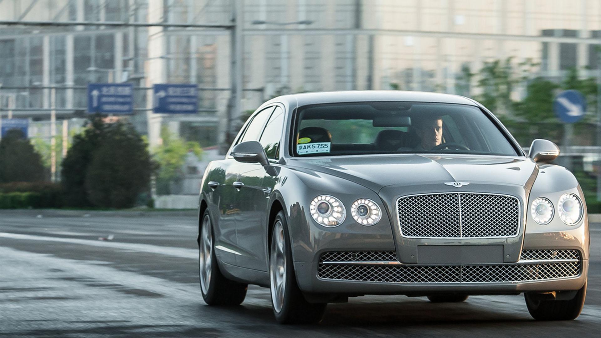 bentley flying spur chauffeur