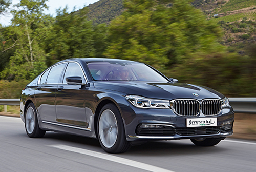 bmw 7 series Wedding chauffeur