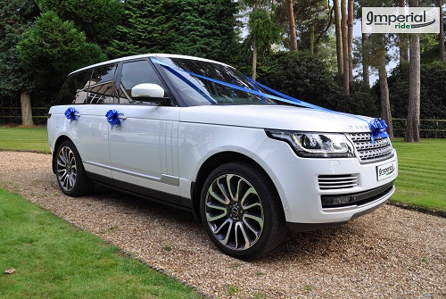 range rover autobiography wedding hire