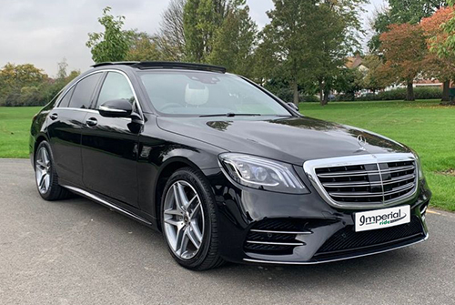 Hire Mercedes S Class For Business Travel