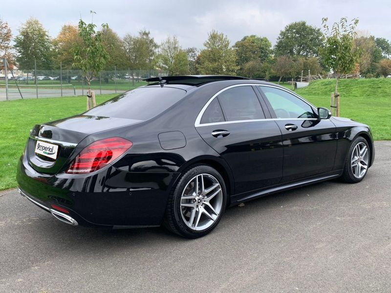 Hire Mercedes S Class For Corporate