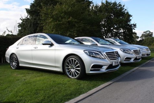 Hire Mercedes S Class Financial Roadshows