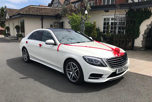 Hire Mercedes S Class For Weddings