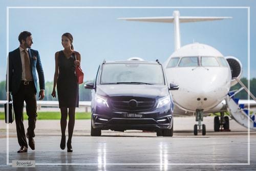 v-class airport transfers