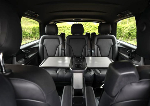 MERCEDES V-CLASS SEATING CAPACITY