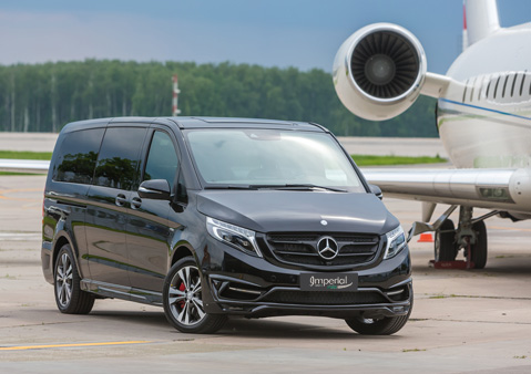 MERCEDES V-CLASS COMFORT, STYLE AND SAFETY