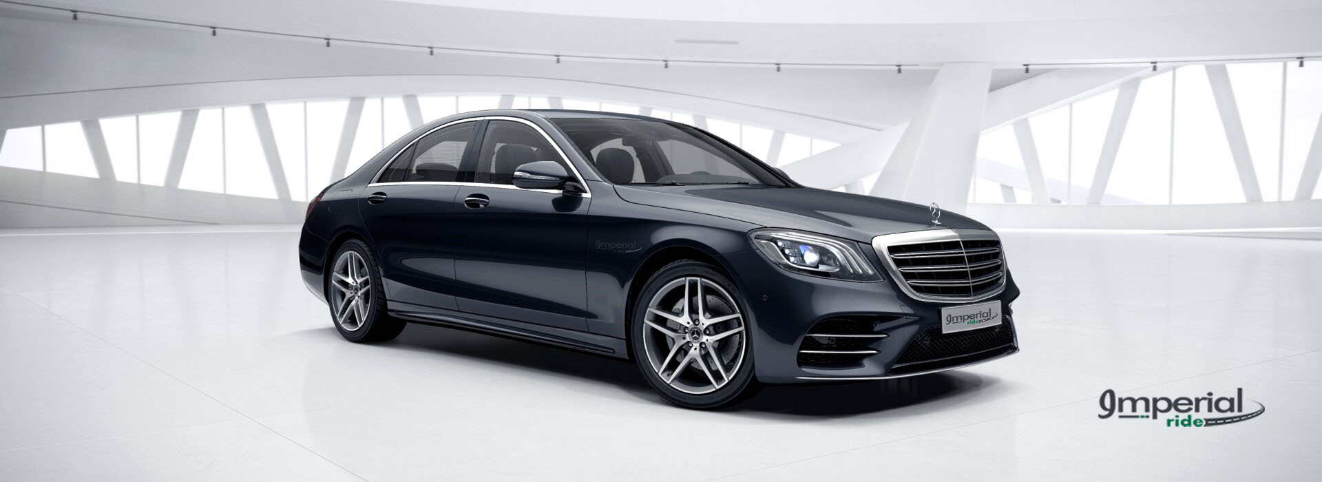 Mercedes S Class Chauffeur Driven Car Hire Service