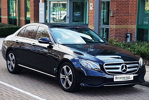 mercedes benz e class business chauffeur