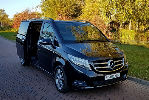 v class wedding car hire