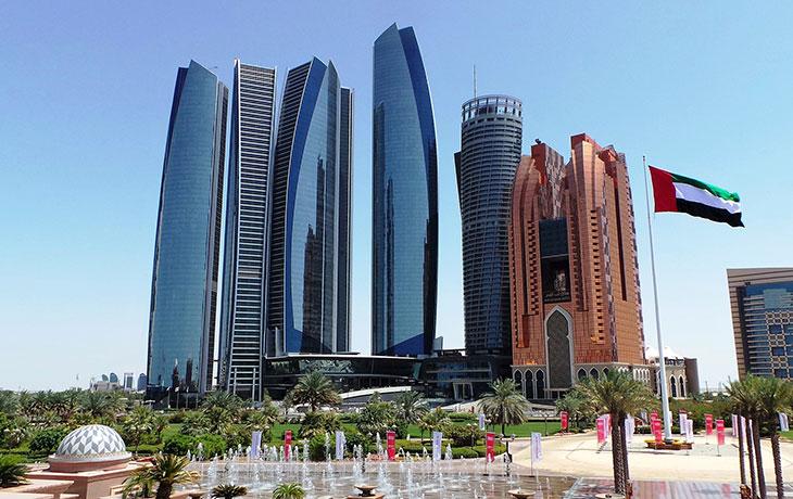 Chauffeur to Abu Dhabi